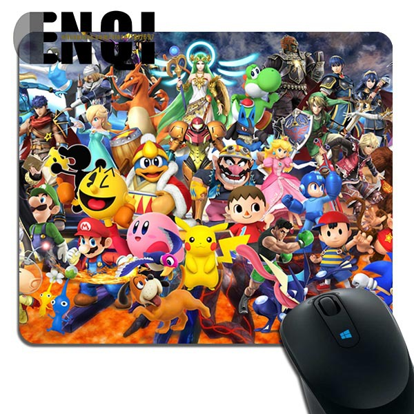 2015 Cartoon Animation Super Smash Bros Background Game Computer Optics mouse pad(China (Mainland))