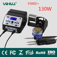 938BD+ SMD Soldering Tweezer Repair Rework Station Electric heating pliers Constant temperature heating soldering station(China (Mainland))