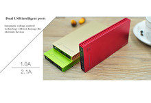 New arrival real capacity 12000mah power bank Aluminum material high capacity many colors for choose