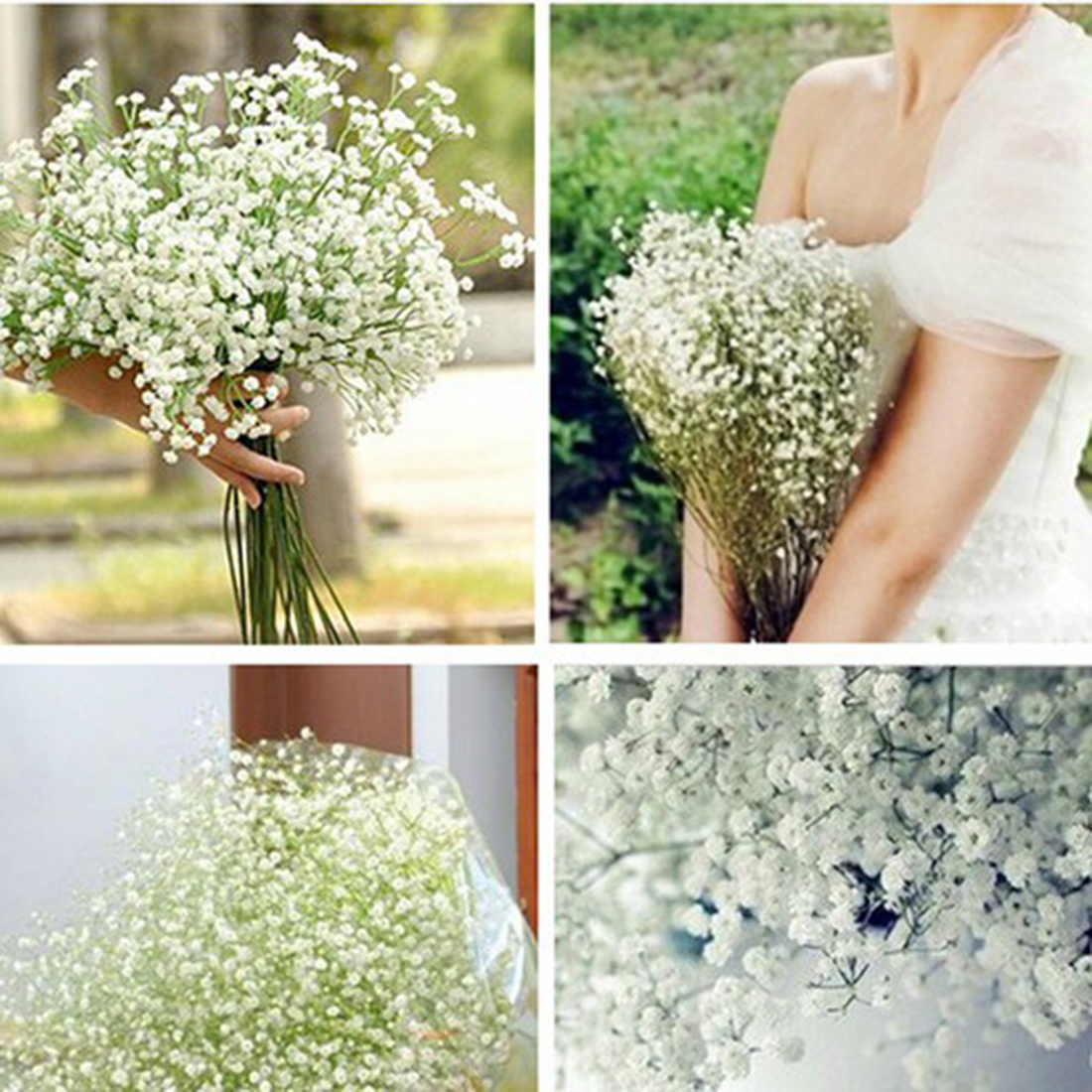 2018 Wholesale 2016 New Beautiful Gypsophila Artificial Fake Silk