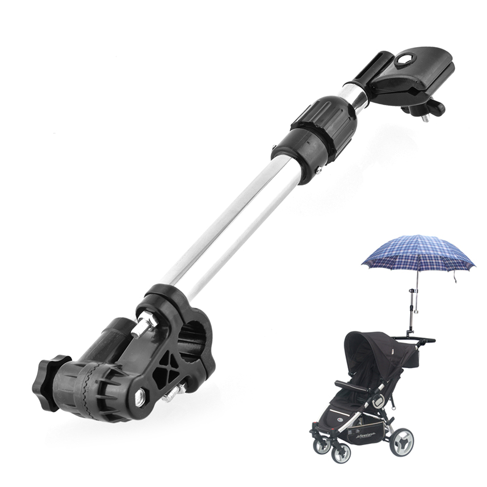New Baby Buggy Pram Bicycle Stroller Chair Umbrella Bar Holder Mount Stand Handle Stroller Accessories High Quality(China (Mainland))