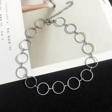 KingDeng oświadczenie naszyjnik dla kobiet moda biżuteria 2018 urocze prezenty dla najlepszych przyjaciół modny wisiorek naszyjnik Choker(China)