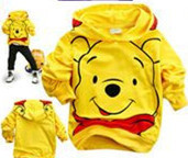 2015 spring Fashion  Children's hoodie, Baby Boys Girls Tops Child Clothes Casual Tshirts retail  discounts baby hoodies(China (Mainland))