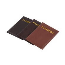 New High Quality Leather Women Passport Holder Couple Models Women's Travel Passport Cover Unisex Card Case Man Card Holder