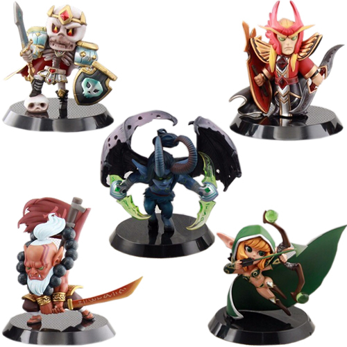 Best Quality 5Pcs/Lot Dota 2 Game Action Figure Toys With Retail Boxed 12CM PVC Action Figures Collection Dota2 Game Model Toys<br><br>Aliexpress