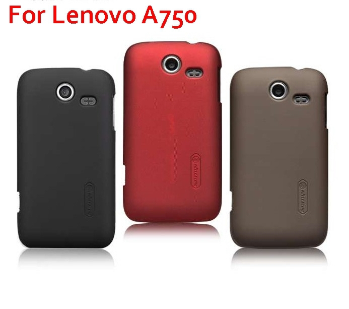 Fashion Matte Hard Cover Case For Lenovo A750 Free Screen Protector Singapore post ship(China (Mainland))