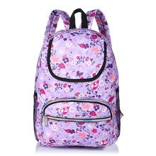 Femmes de qualité à dos impression sac à dos sacs d'école pour adolescents sacs à dos pour les filles étanche voyage à dos(China (Mainland))