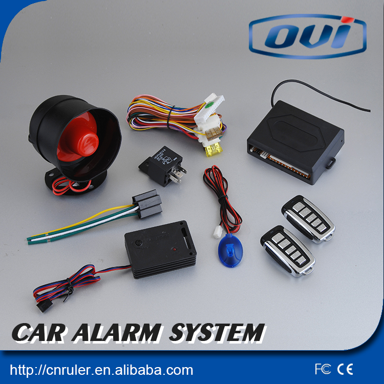Auto start car alarm system with remote engine starter keyless entry system(China (Mainland))