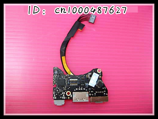 for macbook air A1370 MC505 MC506 11 DC Jack Power Jack Audio Board &amp; Cable to  2010 year<br>