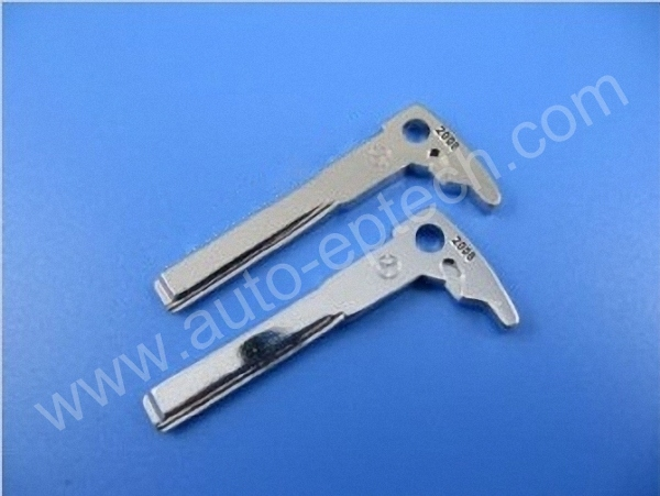 20pcs lot uncut blade mercedes benz replacement smart key for Mercedes benz keys replacement cost