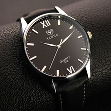 Buy Quartz Watch Men YAZOLE Brand Luxury Famous Wristwatches Male Clock Leather Wrist Watch Business Fashion Casual Dress Watches for $5.09 in AliExpress store