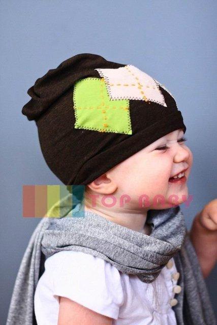 Top Baby hats headband barrette headgear kids berets chapeau dicer beanie hair clips --CL547