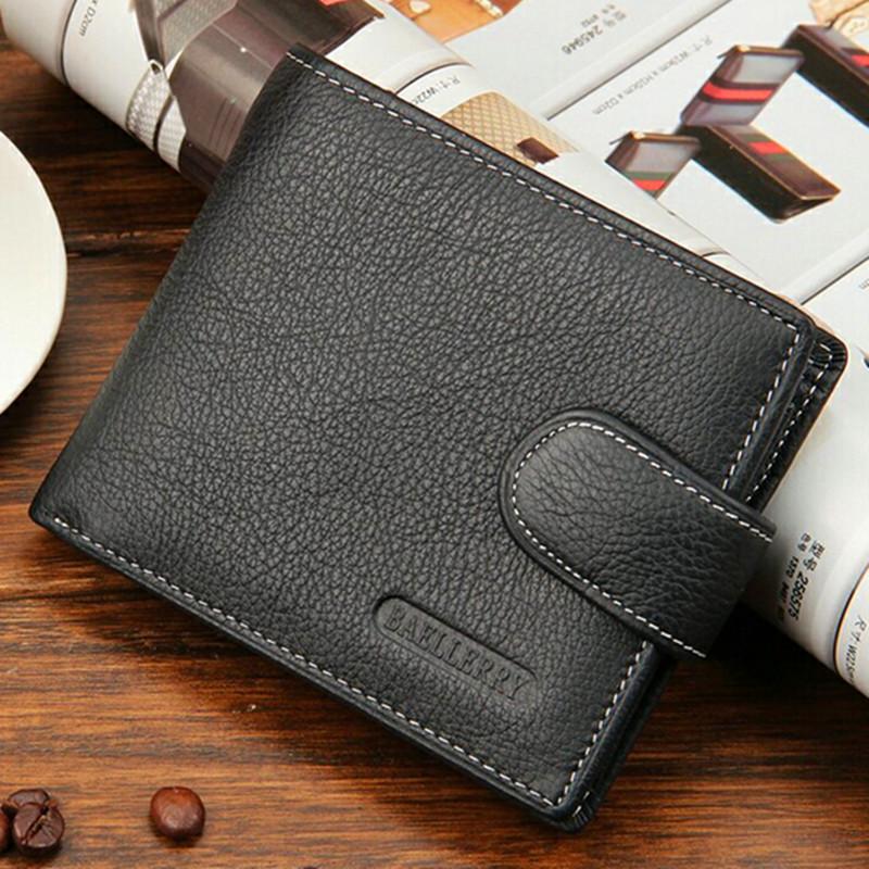 Гаджет  European Style 2015 Men Wallets Short Design Leather man wallet Fashion