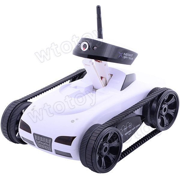Hot New Toys!! Rover App-Controlled Wireless 4Ch i-Spy Tank With Camera for iPhone, iPod Touch and iPad/RC Toy Car 20182