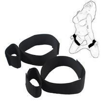 Bondage restraints sex products, Wrist Cuffs to Thigh Bondage Kit Set,Adult Games Restraints Kit for Men Women Fetish Erotic Toy