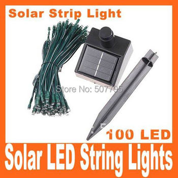 17M Solar LED String Lights Decoration Christmas Tree Party, Free Shipping