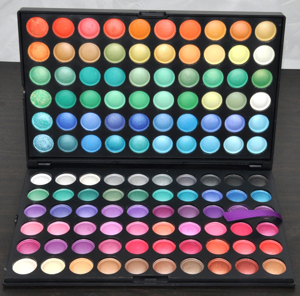 120 Colors Fashion Eye Shadow Palette Cosmetics Mineral Makeup Palette Eyeshadow Set For Women 4 Styles available(China (Mainland))
