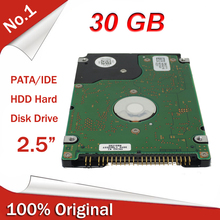 "100% Original 2.5"" 2.5inch PATA IDE HDD 30GB 4200rpm Internal Hard Disk Drive For Laptop Notebook Factory Sealed(China (Mainland))"
