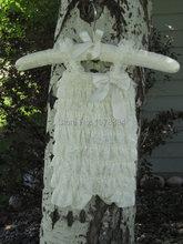 Vintage ivory Lace Petti Romper/Country Wedding flower girl romper/Rustic Flower Girl/Shabby Chic Flower Girl Lace Romper(China (Mainland))