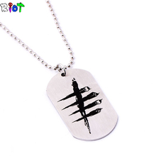 Buy New Arrive Game Dead Daylight Necklace stainless steel Pendant Keychain Chain Necklace Jewelry Can Dropshipping for $1.24 in AliExpress store
