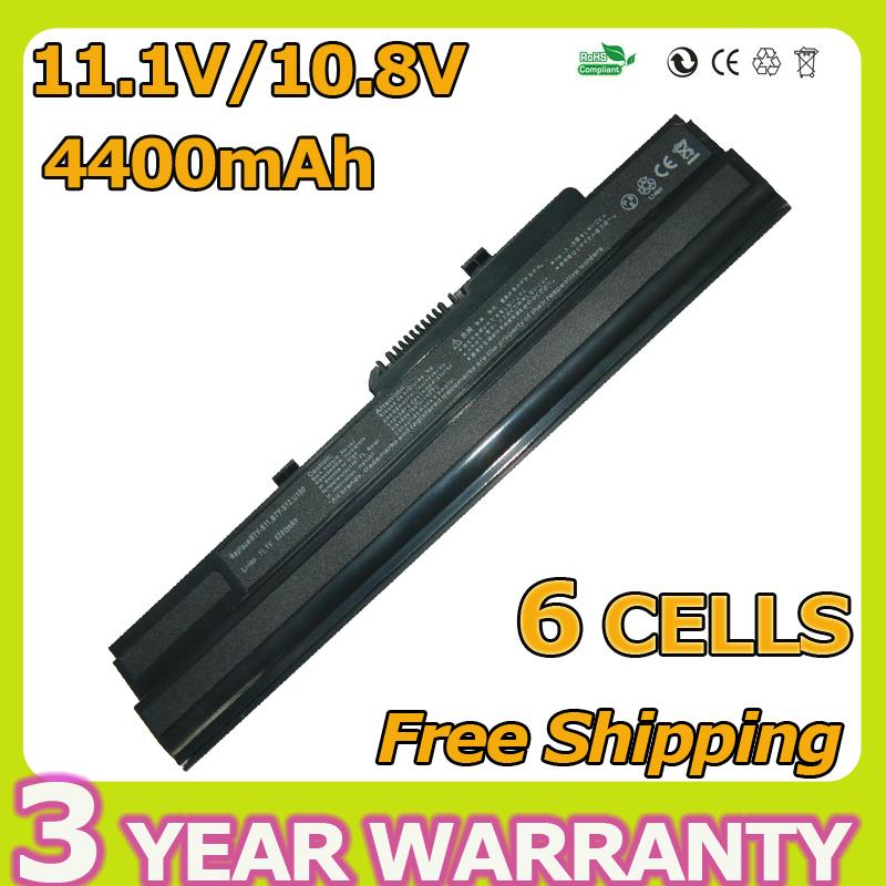 4400mah 11.1v Laptop Battery For MSI BTY-S11 BTY-S12 Wind MS-N011 U100 U100X U100-002LA U210-006US U90 FOR Advent 4211 4489(China (Mainland))