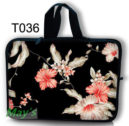 Lily personalized cool skull soft neoprene laptop bag 10 12 13 14 15.6 17 inch notebook bag case for macbook air/pro etc.(China (Mainland))