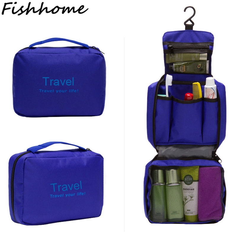 2017 New Popular Travel Bags Waterproof Nylon Men And Women Storage Bag Cubes Multifunction Folding Cosmetic Bag MP820Z(China (Mainland))