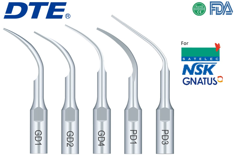Woodpecker DTE dental equipment NSK scaler tip GD1 GD2 GD4 PD1 PD3 dentist instrument odontologia dentistry tool teeth whitening<br><br>Aliexpress