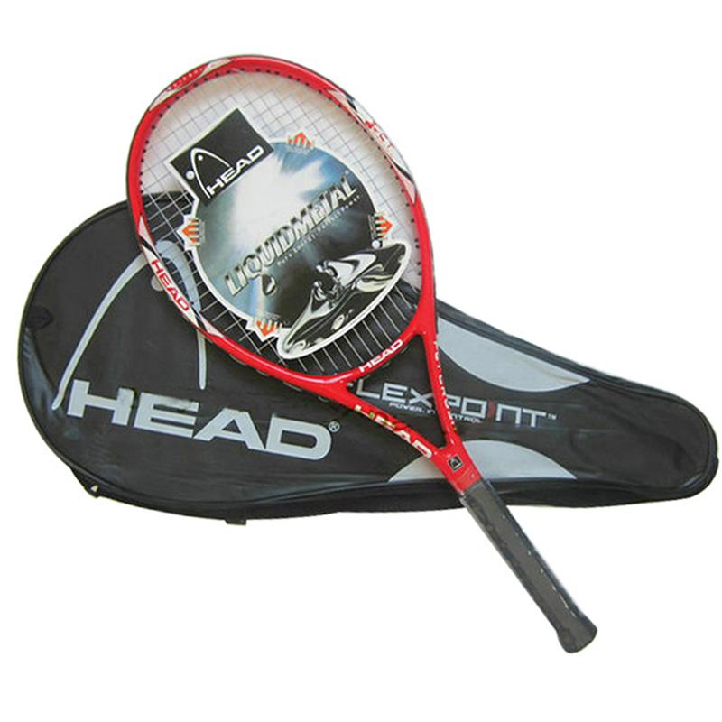 High Quality Tennis Racket Hend Carbon Fiber Tennis Racket Racquets Equipped with Bag Tennis Grip Size 4 1/4 raquetas de tenis(China (Mainland))