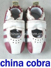 leather baby sandals soft sole(China (Mainland))