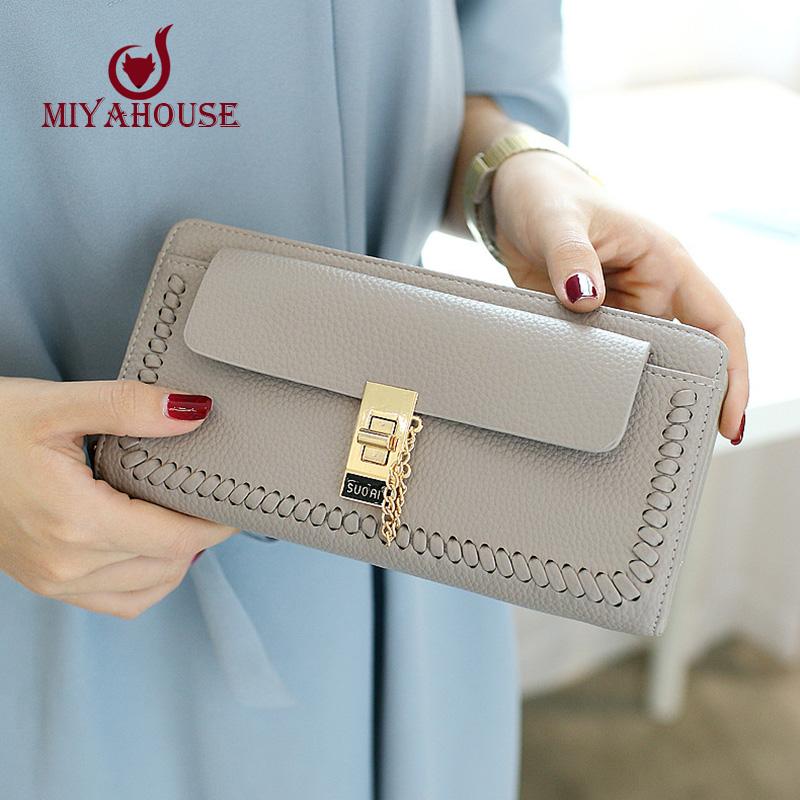 women long purse big capacity for cards