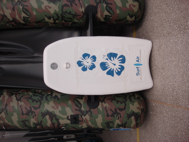 Mini surfboard water skiing board plate high pressure bloodstains(China (Mainland))