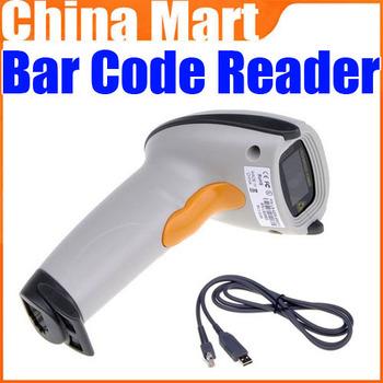 Free Shipping USB Handled Laser Scan Barcode Scanner Bar Code Reader