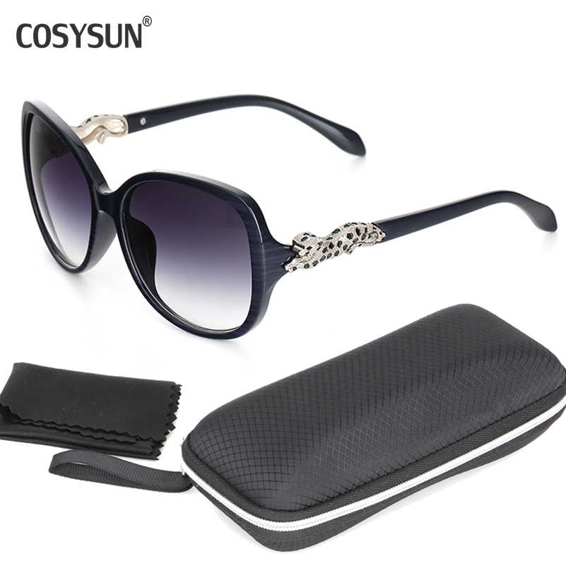 2015 Luxury Brand UV400 leopard Woman Sunglasses leopard hinge Women Brand designer Sun Glasses Women's Outdoor Eyeglasses(China (Mainland))