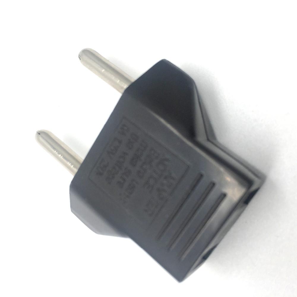 6pcs/lot Portable EU Adapter Plug USA to Euro Europe Wall Power Charge Outlet Sockets US Plug to EU Plug Socket Adapter
