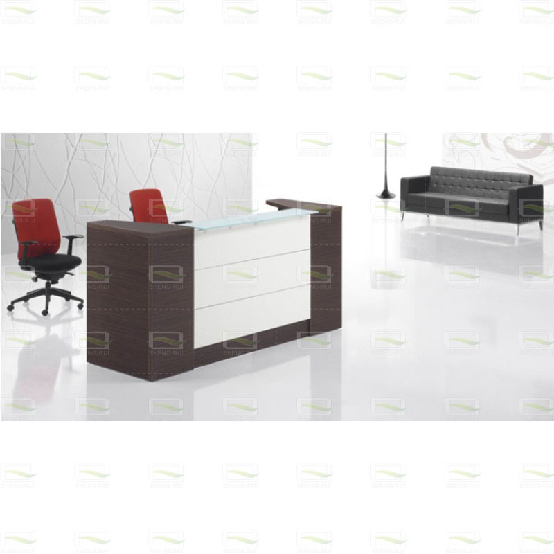 office furniture fashion paint Front minimalist modern reception desk ...