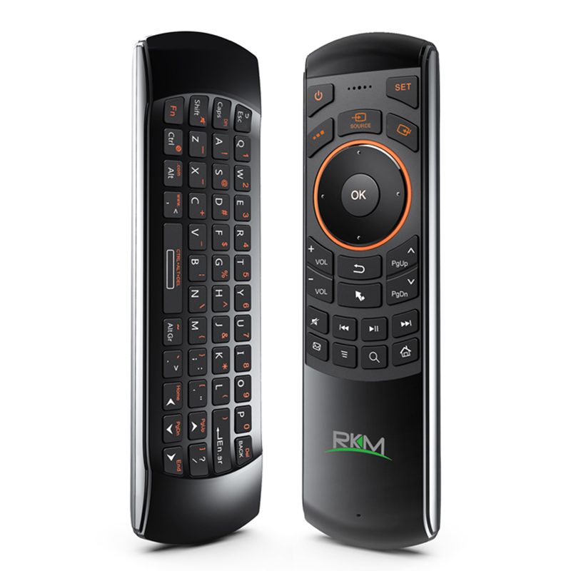 RKM MK705 Sensor Remote,Fly air mouse+wireless mouse + remote control(MK705)