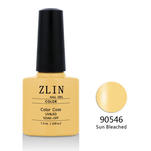 Varnish Esmaltes ZLIN Nail Gel UV Gel Polish Gel Nail Polish 7.3 ML Soak Off Nail Gel Polish 79 colors Nail Art 90546