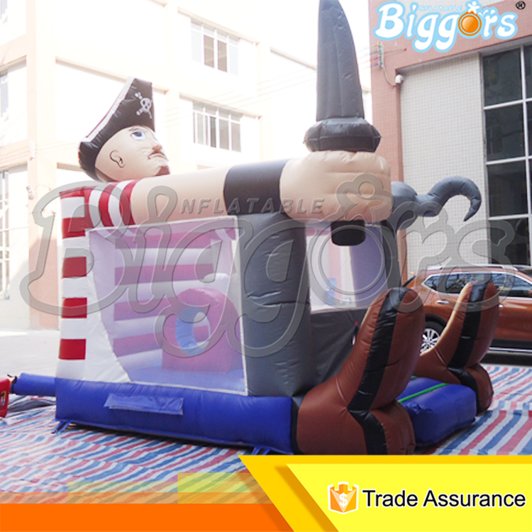 Inflatable Biggors Bounce House Kids Jumping Toys Outdoor Party Events Commercial Rental(China (Mainland))