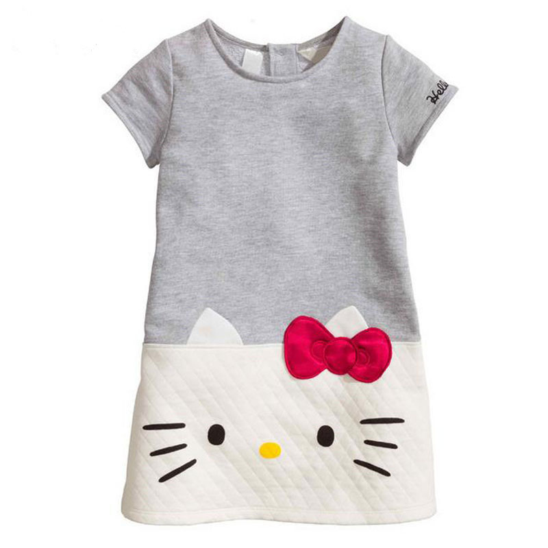 Hello Kitty Baby Girls font b Dresses b font Kids Clothes 2016 Children font b Dress
