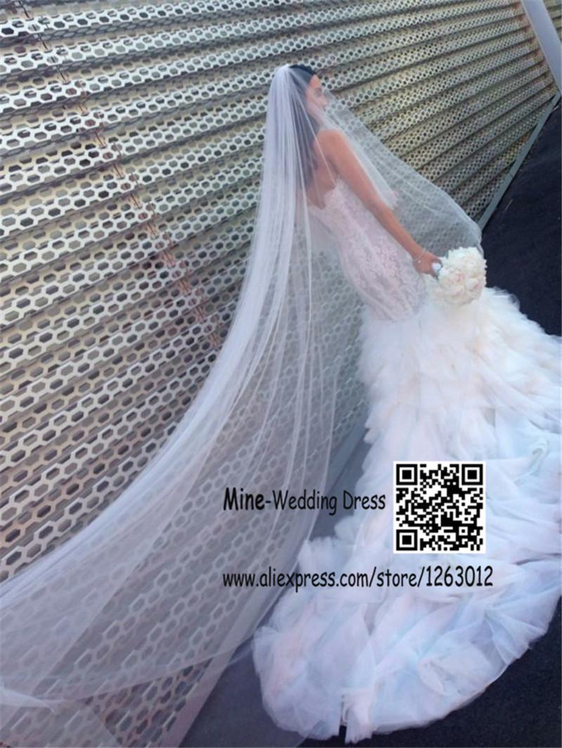 Обнаженная внутри милая vestidos boda русалка свадебные платья аппликация кружева раффлед часовня железнодорожного свадебные платья