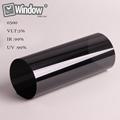 Black nano ceramic film 5 VLT car window film 60 x 100 1 52x30m roll