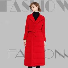 Parkas For Women Winter 2016 High Quality Winter Women Loose Long Down Jacket Fashion Coat Women Coats White Duck Down Outerwear