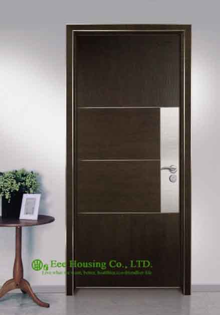 Commercial Ecological Interior Door For Sale, Aluminum Modern Door For Restaurant /Hotel Projects(China (Mainland))