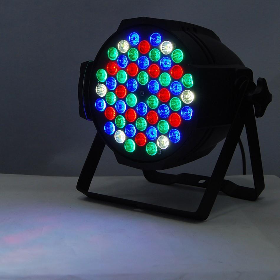 Dmx Stage Lights Constant Current 54*1w  RGBW Led Par Cans Light LED Par 64/SX-PL5403<br><br>Aliexpress