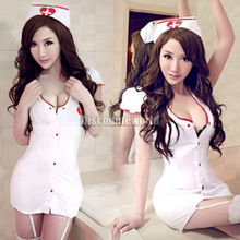 Hot!!!Sexy Costumes Cosplay Nurse Uniform Lingerie Fancy Dress Set Outfit