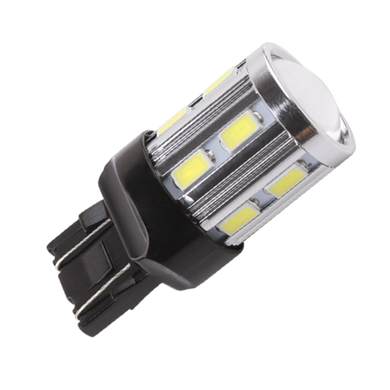 7443 7440 led car bulbs 12 smd 5730 xenon white w21 5w 5w. Black Bedroom Furniture Sets. Home Design Ideas