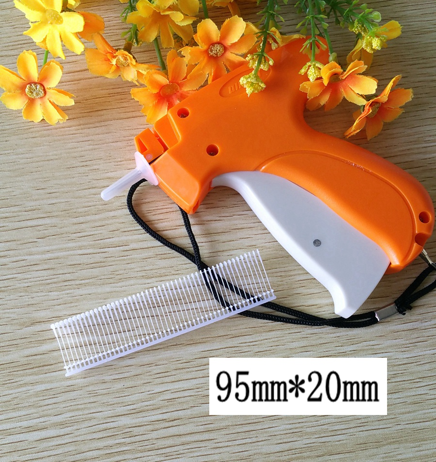 1 pcs Durable Plastic Price Tagger Tagging Gun &3000 pcs 20mm Tagging Gun Barbs Fastener For Factory Supermarket Use Tag Tool(China (Mainland))