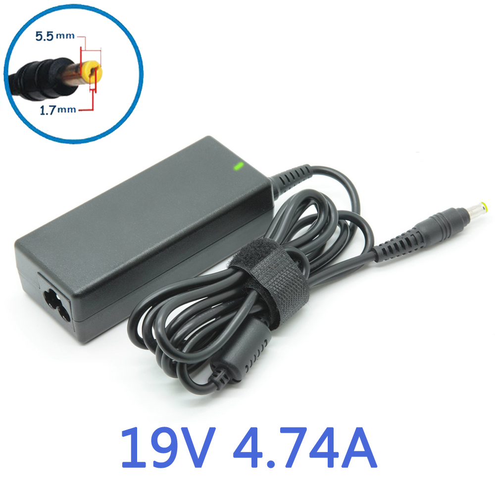 19V 4.74A 5.5*1.7mm AC Adapter Laptop Charger For Acer Aspire Notebook 7745G 5750 5742G 5950G 5755G7750G 7739Z 7560G 5560G 5830<br><br>Aliexpress