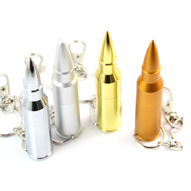 Bullet Shape USB Flash Drives Memory Storage Pendrives USB 2.0  64GB 32GB 16GB 8GB 4G